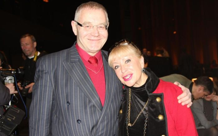 Александр Журбин и Ирина Гинзбург. / Фото: www.alexanderzhurbin.ru