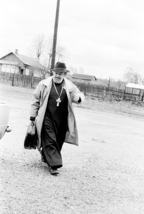 Протоиерей Александр Мень, 1989 год. / Фото: www.alexandrmen.ru