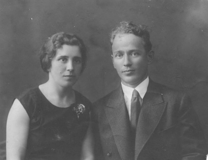 М.А.Шолохов и М.П.Шолохова. 1932 г. / Фото: www.sholokhov.ru