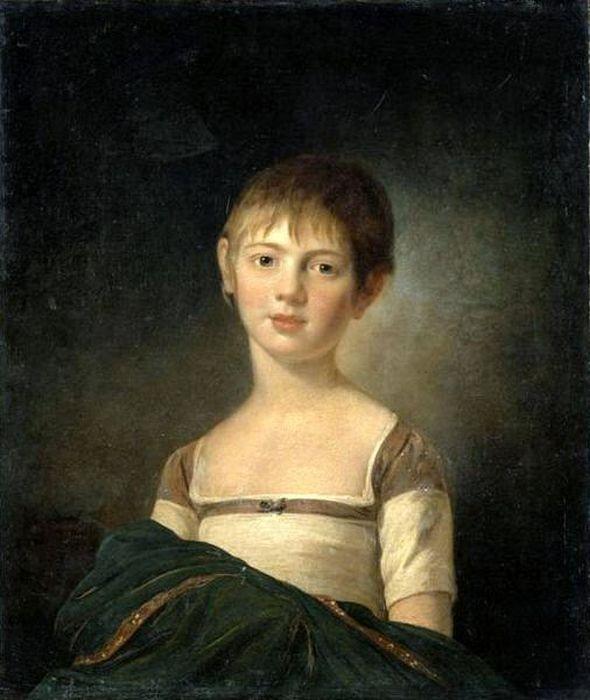 Martin Ferdinand Quadal Юная княжна Анна Павловна, 1800. / Фото: www.dot-pic.ru