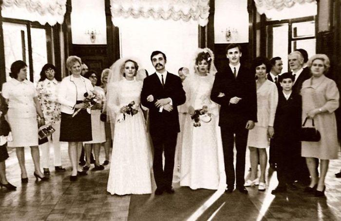 Свадьбу брат и сестра Прокловы праздновали в один день. / Фото: www.7days.ru