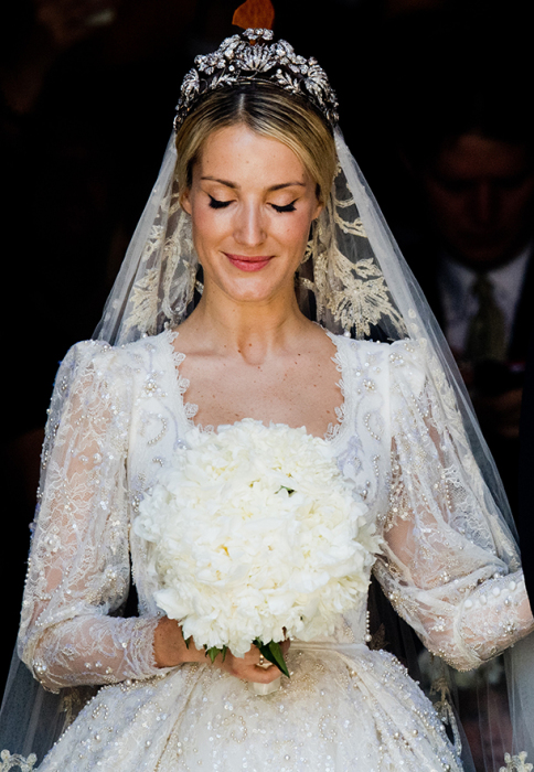 Счастливая невеста.  / Фото: www.hellomagazine.com