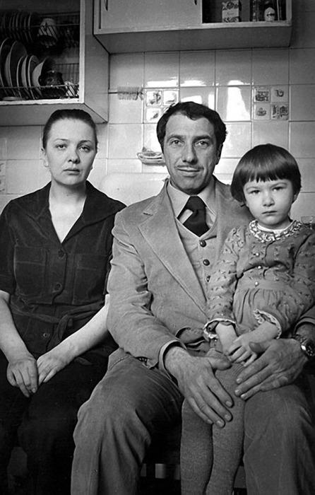Сергей Юрский и Наталья Тенякова с дочерью. / Фото: www.nevsedoma.com.ua