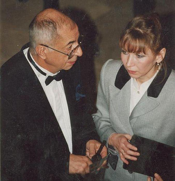 Микаэл и Вера Таривердиевы. / Фото: www.tariverdiev.ru