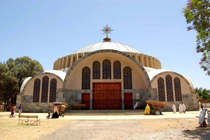 Церковь Марии Сионской в Аксуме. / Фото: www.esosedi.org