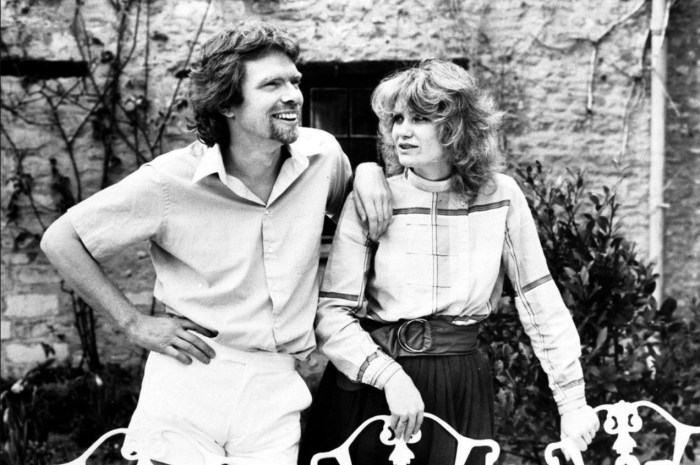 Ричард и Джоан Брэнсон в молодости. / Фото: www.twimg.com