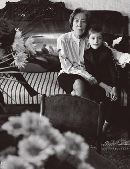 Она была душой этой удивительной семьи. / Фото: www.sobaka.ru