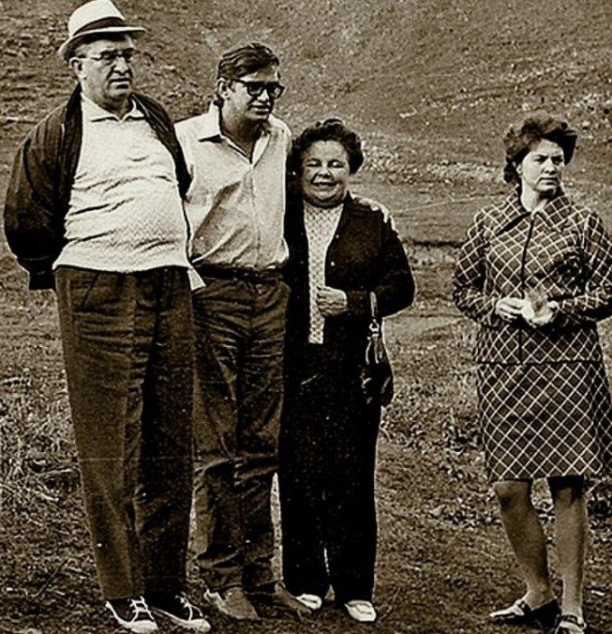 Юрий Андропов, его сын Игорь, жена Татьяна и дочь Ирина. / Фото: www.nethistory.su