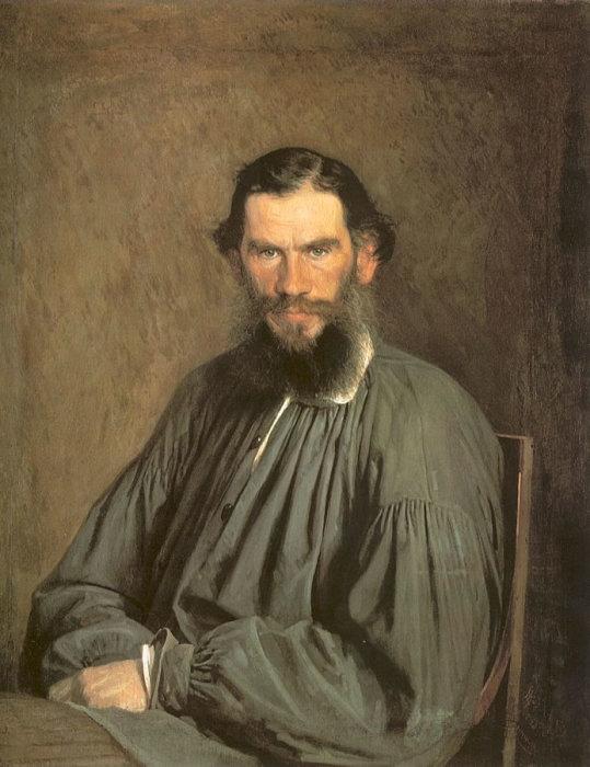 Иван Николаевич Крамской. Портрет Л. Н. Толстого. 1873. / Фото: www.aria-art.ru