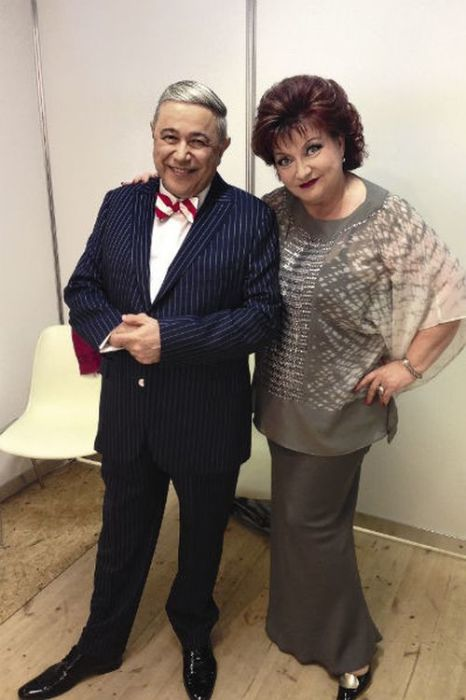 Евгений Петросян и Елена Степаненко. / Фото: www.liganews.net