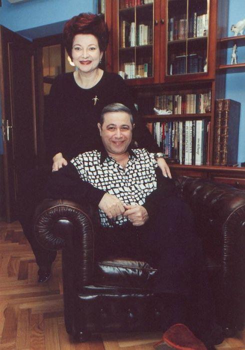 Евгений Петросян и Елена Степаненко, 1997 год. / Фото: www.e-petrosyan.ru