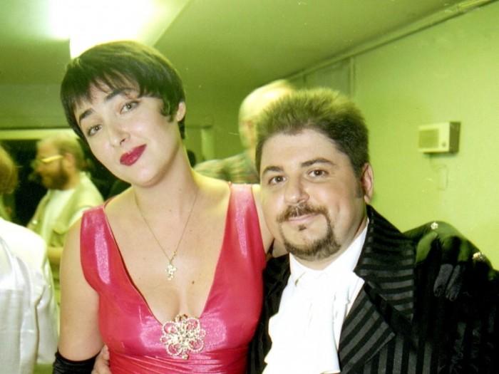 Лолита и Александр Цекало. / Фото: www.alabanza.ru