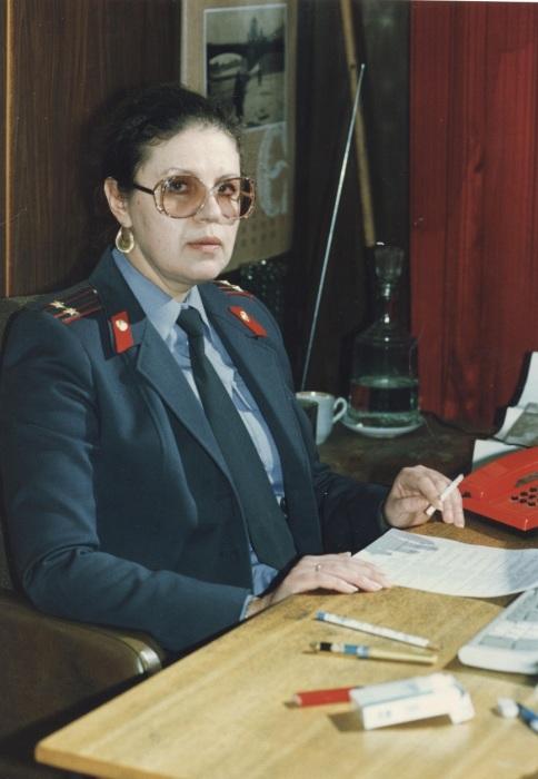 Марина Алексеева - подполковник милиции. / Фото: www.мвд.рф