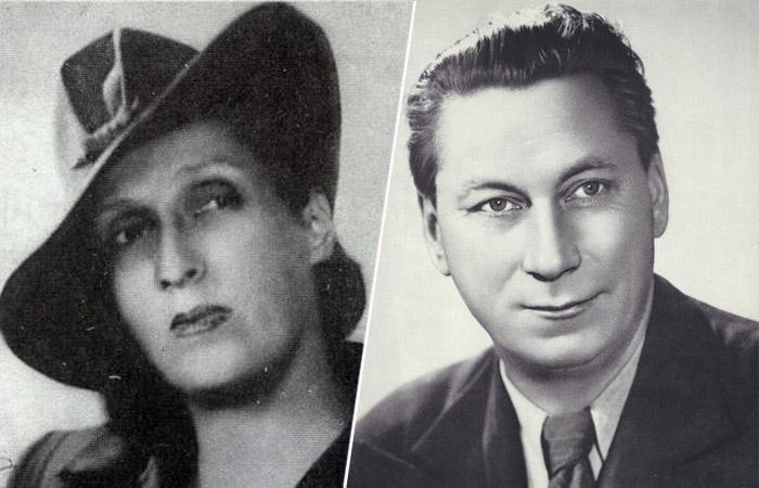 Василий Меркурьев и Ирина Мейерхольд.