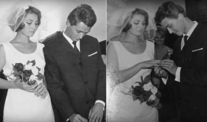 Бракосочетание Игоря Старыгина и Людмилы Исаковой. / Фото: www.1tv.ru