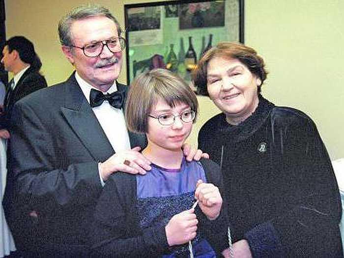 Супруги Соломины и внучка Александра. / Фото: www.fb.ru