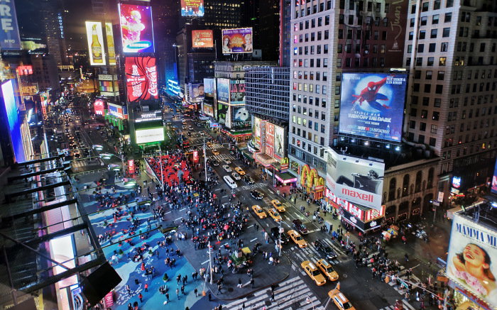 Таймс-сквер. / Фото: www.shafir.info