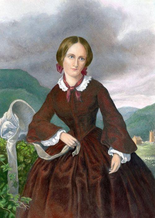 Шарлотта Бронте, гравюра Уильяма Джекмана, цветная копия. / Фото: www.theglobeandmail.com