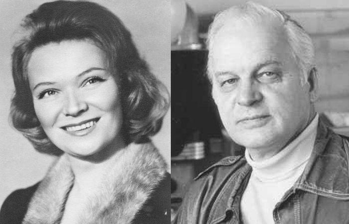 Нина Меньшикова и Станислав Ростоцкий.