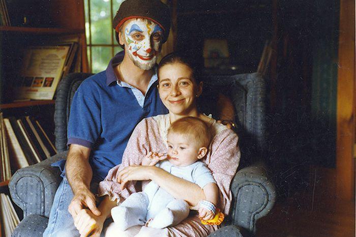 С мужем Глебом и сыном Алешей, Вермонт, 1991. / Фото: www.snob.ru