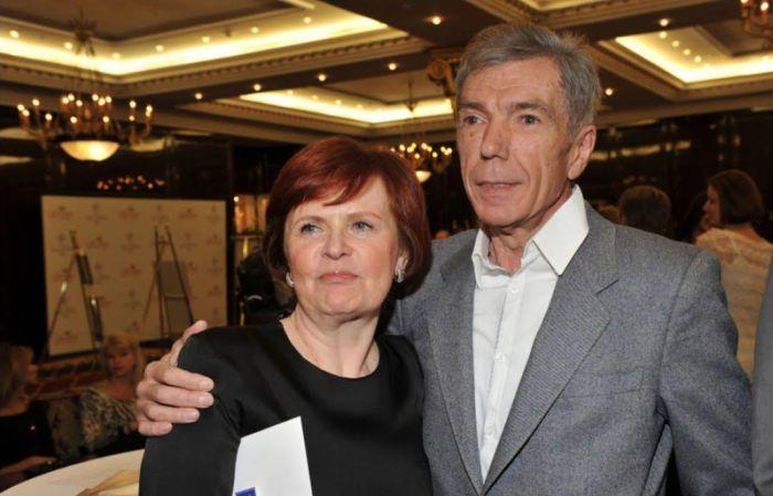Юрий и Элеонора Николаевы. / Фото: www.ytimg.com
