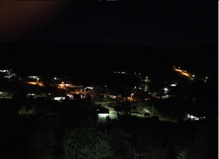 Ноива до Кордейро ночью. / Фото: www.instagram.com