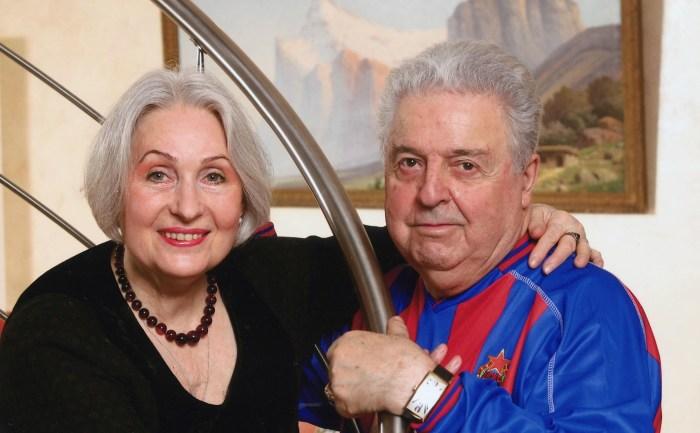 Лидия Козлова и Михаил Танич. / Фото: www.vokrug.tv