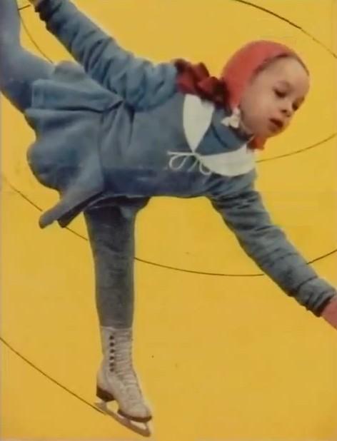 Она была самой маленькой спортсменкой у тренера Татьяны Гранаткиной. / Фото: www.mylove.ru