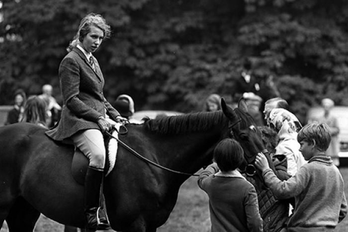 Принцесса Анна на Олимпиаде 1976 года. / Фото: www.kinokopilka.pro