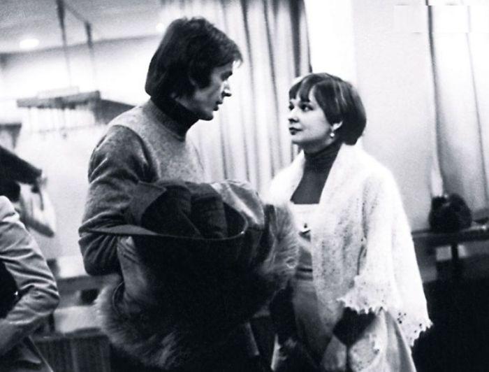 Георгий Тараторкин и Екатерина Маркова. / Фото: из личного архива Е. Марковой