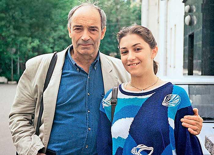Валентин Гафт с дочерью Ольгой. / Фото: www.7days.ru