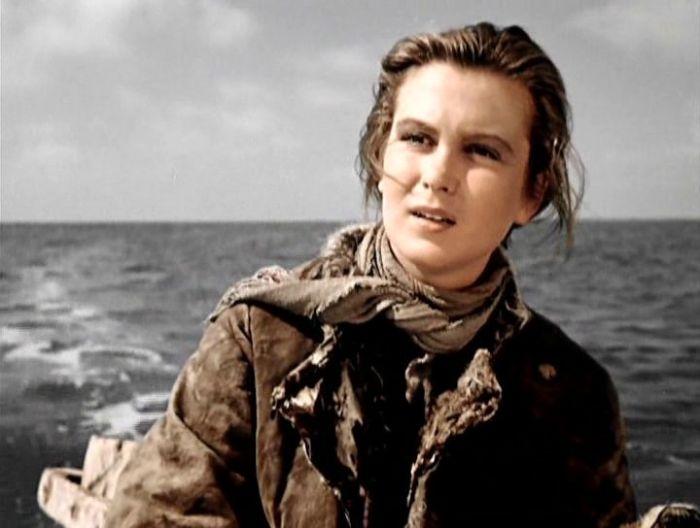 Изольда Извицкая, кадр из фильма «Сорок первый». / Фото: www.driverpete.ru