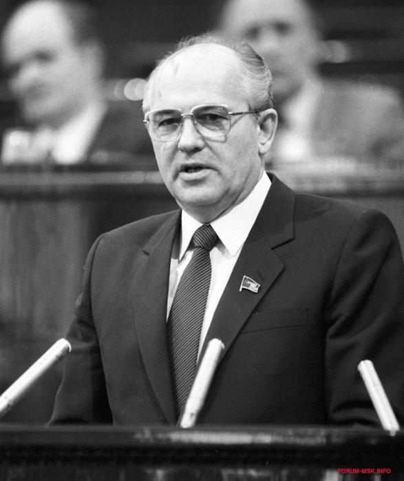 Михаил Горбачёв. / Фото: www.forum-msk.info