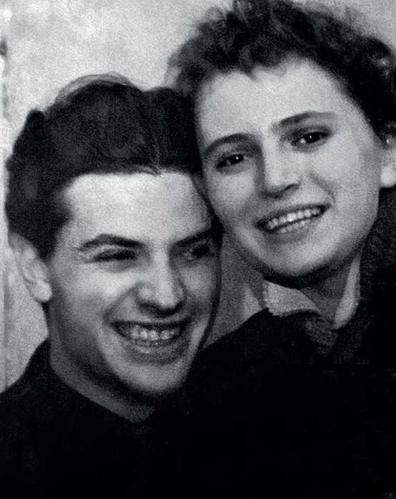 Снимок 50-х годов: Александр и Наталья./ Фото: www.kp.ru