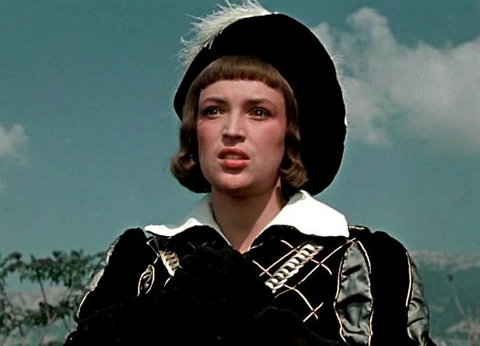 Клара Лучко в роли Себастьяно. / Фото: www.e-wiki.org