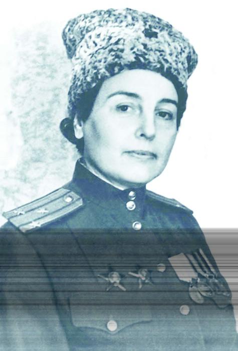 Полковник Зоя Воскресенская. / Фото: www.историк.рф