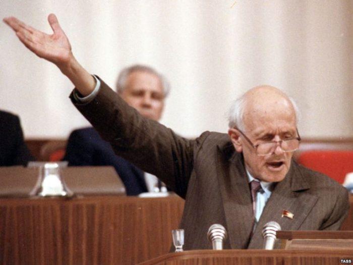 Академик Сахаров на Съезде. / Фото: www.imperor.net