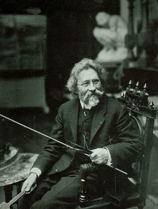 Илья Репин. Фотография 1909 года. / Фото: www.wikimedia.org