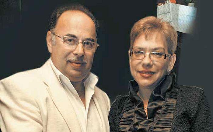 Вадим Елизаров и Нина Маршева. / Фото: www.platinummag.com.ua