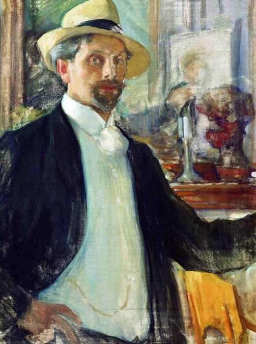 Леонид Пастернак. Автопортрет. / Фото: www.museum.net.ua