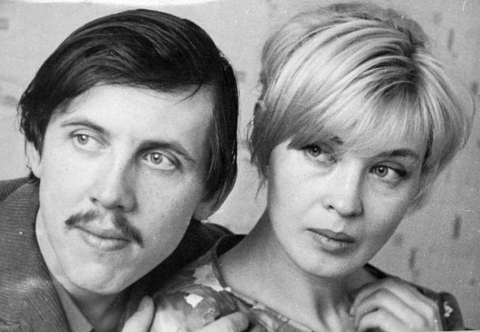 Валерий Золотухин и Нина Шацкая. / Фото: www.vnikitskom.ru