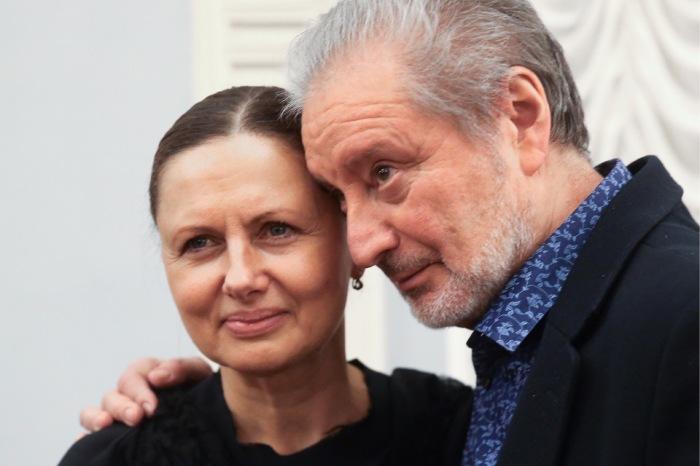 Вениамин Смехов и Галина Аксенова. / Фото: www.dni.ru