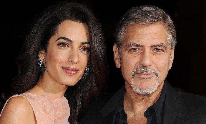 Джордж и Амаль Клуни. / Фото: www.toptopic.com