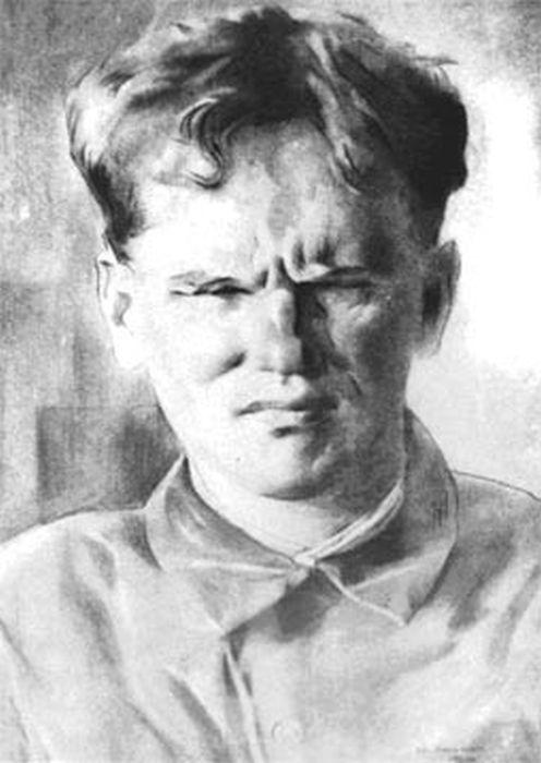 Портрет В.Я. Ерошенко художника Е.А. Кацмана. 1930 г. / Фото: www.belgorodbiblioteka.ru