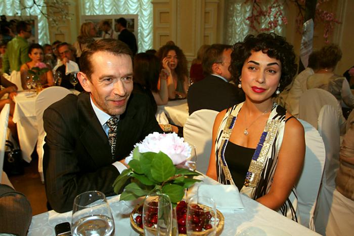 Владимир Машков и Оксана Шелест. / Фото: www.fakty.ua