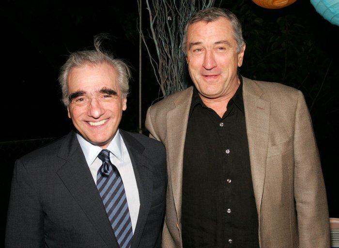 Мартин Скорсезе и Роберт Де Ниро. / Фото: www.nepascene.com