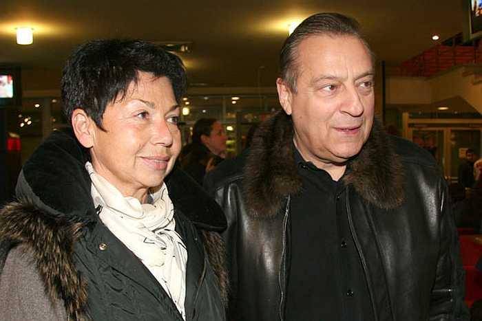 Геннадий Хазанов и Злата Эльбаум. / Фото: www.bim-bo.net