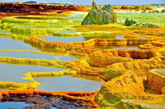 Вулкан Даллол, Эфиопия. / Фото: www.theoutlook.com.ua