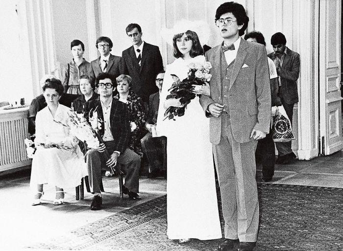 Свадьба Игоря и Марины, 19 июля 1982 г. / Фото: www.igorkorneluk.info