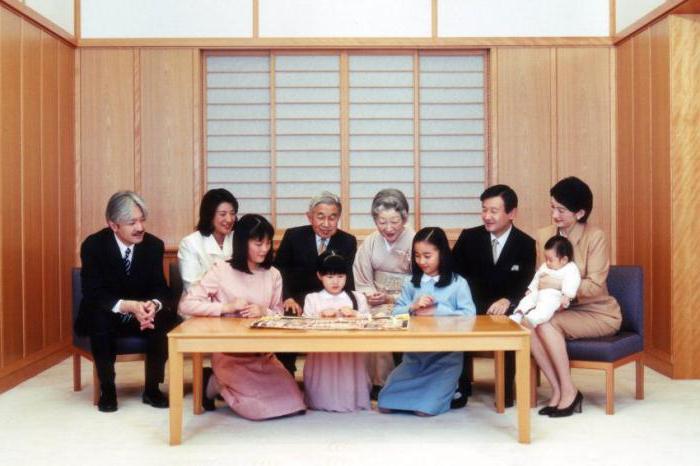Большая семья императора Японии Акихито. / Фото: www.fb.ru